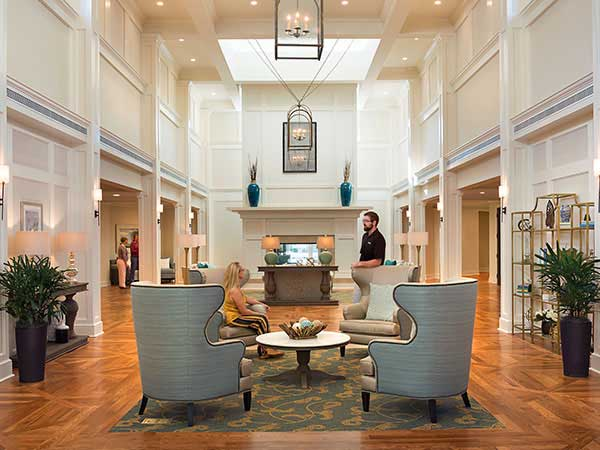 senior living community mount pleasant sc lobby