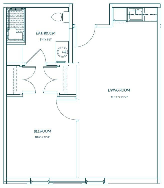 Heyward Assisted Living Facility Mount Pleasant SC Floor Plan